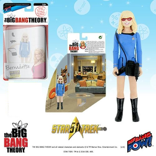 Bif Bang Pow Big Bang Theory Bernadette Star Trek Figure